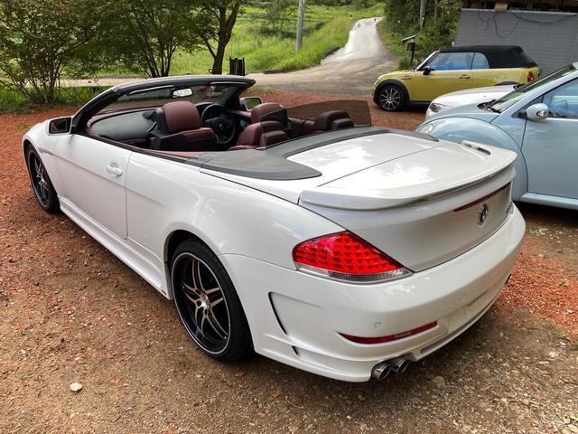 BMW 6シリーズ 650iカブリオレ Mカスタム 高額HAMNNカスタム 4本出すマフラー