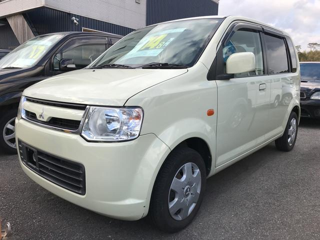 三菱 eKワゴン M 車検整備付 キーレス アイボリー (車検整備付)