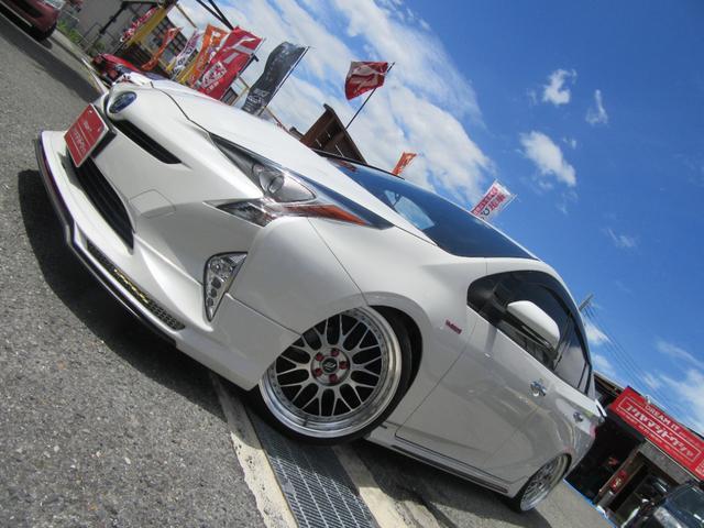 トヨタ S ALPINE STYLフルエアロ シルクブレイズリアスポイラー アルパインビックX9インチナビ Bカメラサンルーフ フルタップ車高調 WORK19インチAW ALPINE STYL4本出しマフラー