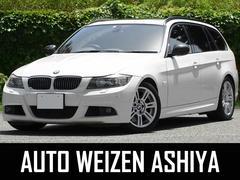 BMW335iツーリングMスポーツ 直6ターボ HDDナビ黒革SR