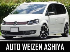 VW ゴルフトゥーランTSIハイライン 車高調マフラー19AWナビTVワンオーナー