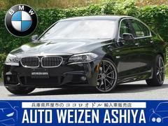 BMW528i Mスポーツエアロ本革HDDナビTVカメラ20AW