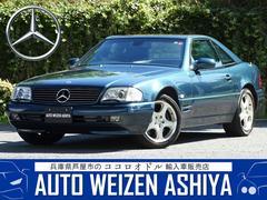 SLSL320 正規ディーラー車/右ハンドル/黒革シート/キセノンライト/ウッドコンビハンドル/クルーズコントロール/ジルコングリーン
