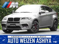 BMW X6 M正規D車 左H 本革サンルーフHDDナビTV全周カメラCPU