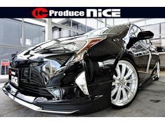 プリウスS未使用車モデリスタ新19アルミ新車高調新黒革調セーフティS