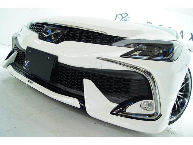 トヨタ 250G リラセレ・レザーモデリスタ保証新品アルミ新品車高調