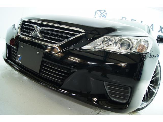 トヨタ 250G Fパケ 新品革調シート新品アルミタイヤ新品車高調