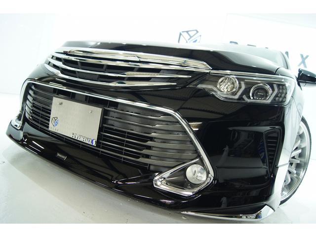トヨタ ハイブリッドGパケ後期モデリスタ仕様新品ライト前後新品車高調