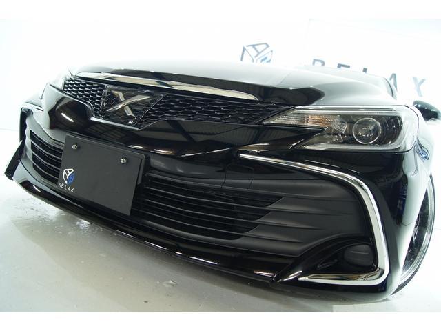 トヨタ 250G Fパッケージ後期 全国1年保証新品アルミ新品車高調