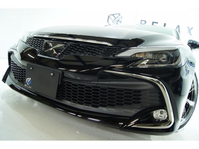 トヨタ 250G SパッケージリラセレRDS後期仕様新品アルミ車高調
