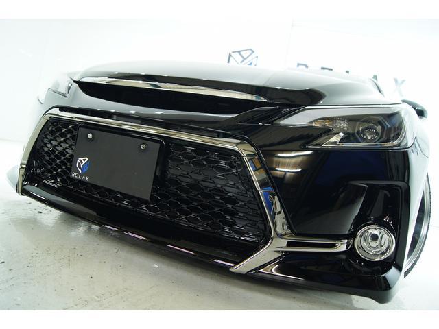 トヨタ 250GFパケ Gs仕様 新品ライト前後新品アルミ新品車高調