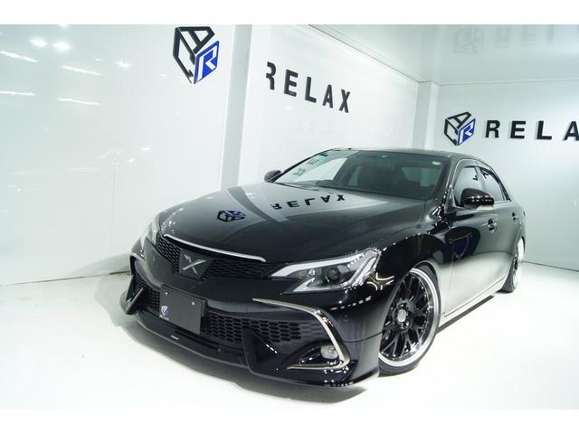 トヨタ 250G Sパッケージリラッセレ本革新品RDSモデリスタ仕様