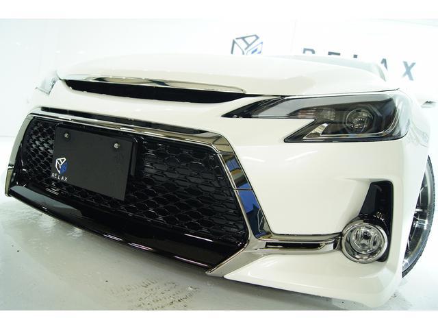トヨタ マークX 250G FパケGs仕様 新品アルミ 新品車高調 新品ライト