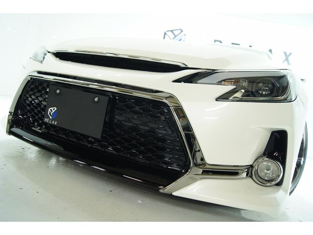 トヨタ マークX 250G リラセレブラックLTD新品Gs仕様新品アルミ車高調