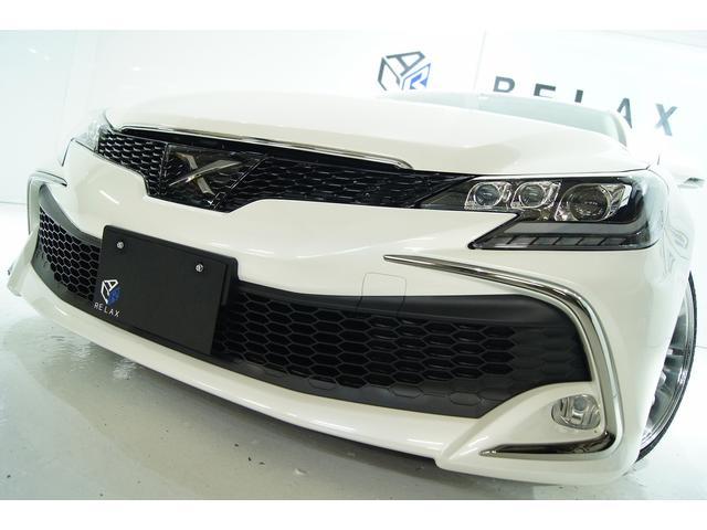 トヨタ マークX 250GSパッケージリラセレRDS新品3眼ヘッドNEWタイプ