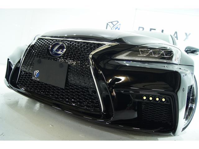 レクサス IS250 バージョンL 新品3眼シーケンシャル新品バンパー