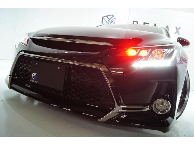 トヨタ 250GFパケ新品Gs仕様新品赤玉ヘッドライト新アルミ車高調