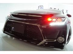 マークX250GFパケ新品Gs仕様新品赤玉ヘッドライト新アルミ車高調