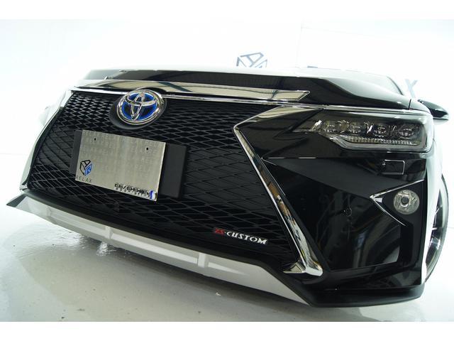 トヨタ ハイブリッド Gパケ新品4眼ヘッドライト新品スピンドルマスク