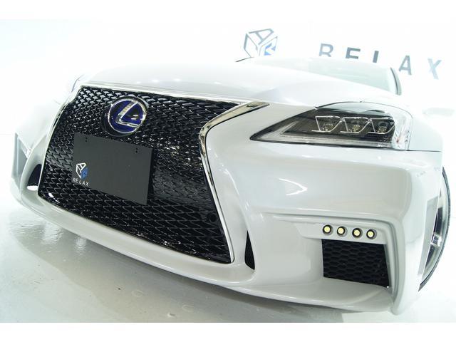 レクサス IS250 バージョンL革サンルーフ新品スピンドル新品ライト