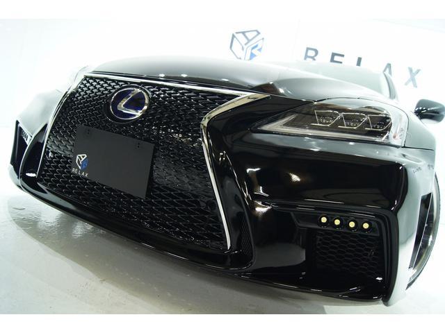 レクサス IS250 バージョンS新品3眼ヘッドライトNEWスピンドル