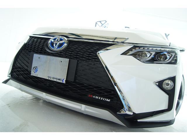 トヨタ ハイブリッド Gパッケージ新品スピンドル新品アルミ新品車高調