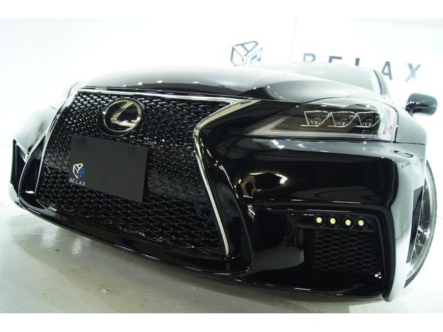 レクサス IS250新品スピンドル新品3眼ヘッドライト新品アルミ車高調