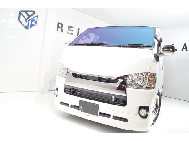 トヨタ スーパーGLダープラ2 天井防音断熱色付ガラスSSRホイール