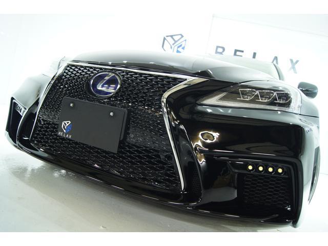 レクサス IS250 バージョンS新品スピンドル新品3眼ライト新品AW