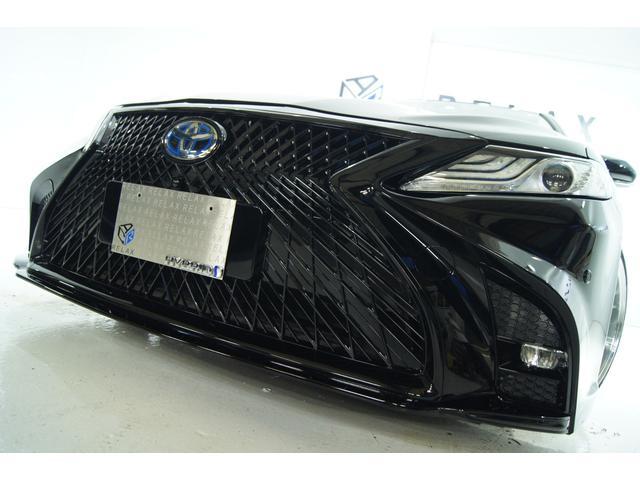 トヨタ X新品スピンドルバンパー 新品19アルミ 新品BLIZ車高調