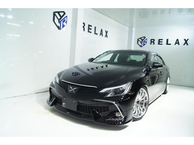 トヨタ マークX 250G リラックスセレクション・ブラックリミテッド 特別仕様車 新品RDSモデリスタ 新品19ホイール 新品タイヤ 新品車高調 新品ホワイトラインヘッドライト
