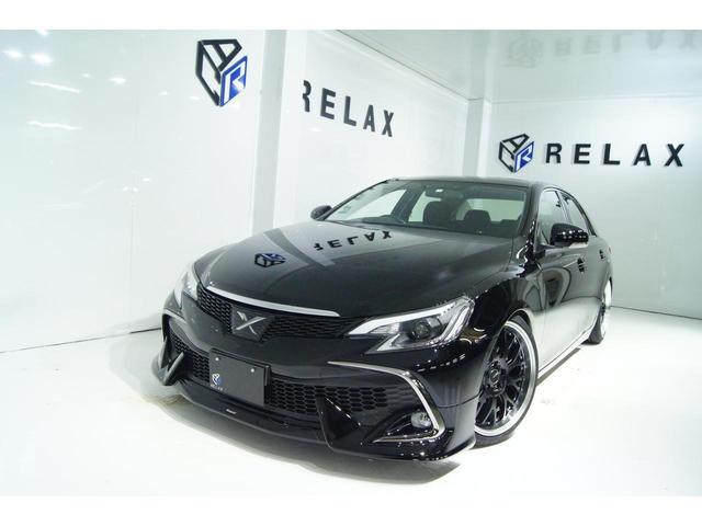 トヨタ マークX 250G Fパッケージ 新品RDSモデリスタ 新品シーケンシャルヘッドライト 新品19ホイール 新品タイヤ 新品車高調