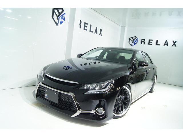トヨタ マークX 250G Fパッケージ 新品Gs仕様 新品自動演出シーケンシャルライト 新品19ホイール 新品タイヤ 新品車高調 パナソニックストラーダナビ バックカメラ