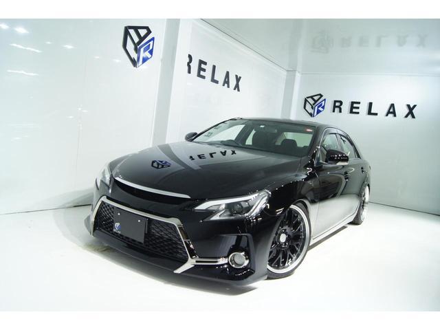 トヨタ マークX 250G Fパッケージ 新品Gs仕様 新品19ホイール 新品タイヤ 新品フルタップ車高調 新品シーケンシャルヘッドライト