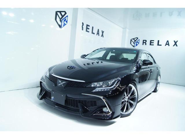 トヨタ マークX 250G 新品モデリスタ 新品ホイール 新品タイヤ新品ヘッドライト 新品スモークテールライト 新品RDSバンパー 新品フルタップ車高調