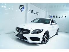CクラスC200アバンギャルド AMGライン 黒本革 新品19ホイール 新品タイヤ 新品ロアリングKITローダウン Bluetooth対応マルチナビ ダイヤモンドグリル シートヒーター ETC