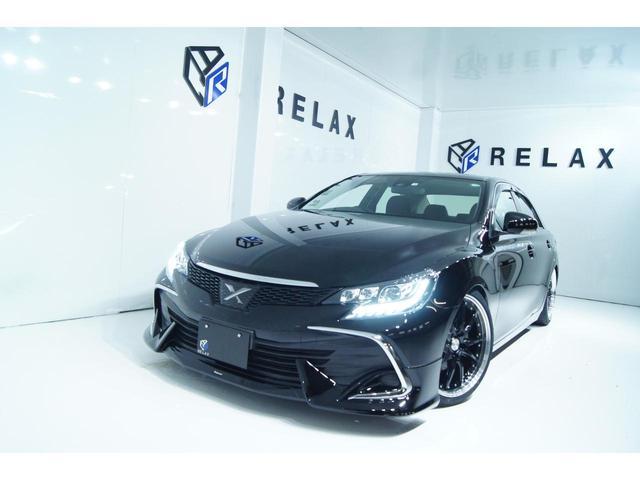 トヨタ 250G Fパッケージ 新品モデリスタ 新品3眼シーケンシャルヘッドライト 新品19ホイール 新品タイヤ 新品車高調