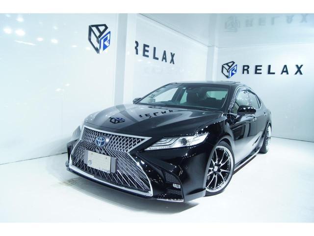 トヨタ カムリ G パノラマサンルーフ 新品スピンドルバンパー 新品19ホイール 新品タイヤ 新品車高調 クルーズコントロール ETC