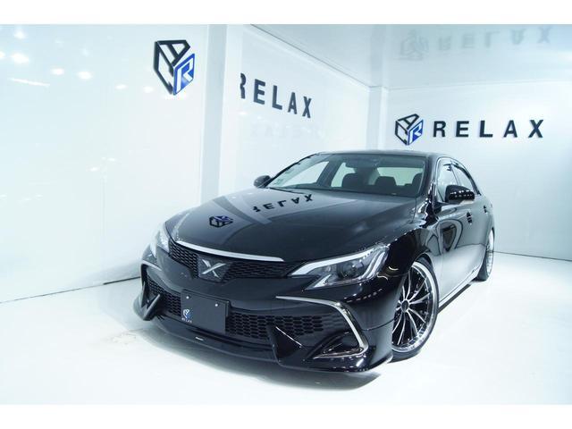 トヨタ マークX 250G Fパッケージ 新品RDS仕様 新品モデリスタ 新品ヘッドライト 新品19ホイール 新品タイヤ 新品車高調 新品エンブレム 社外ナビ バックカメラ