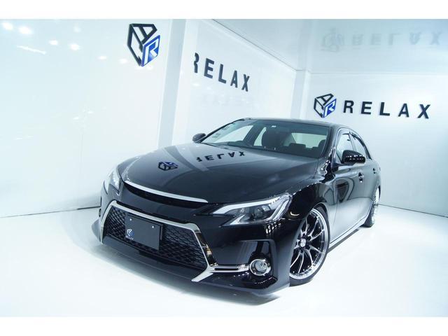 トヨタ マークX 250G 新品Gs仕様 新品19ホイール 新品タイヤ 新品車高調 新品ヘッドライト プッシュスタート 社外ナビ ETC