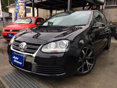 VW ゴルフR32 黒革S ナビTV 天張交換 車高調 18AW