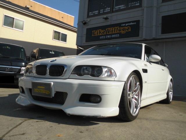 BMW M3 SMGII 最終 正規ディーラー車 アクティブスーパーチャージャー サンルーフ レカロ2脚 ビルシュタイン車高調 AVS19インチアルミ アルコン6ポッドブレーキ ETC クルーズコントロール DVDナビ 6AT