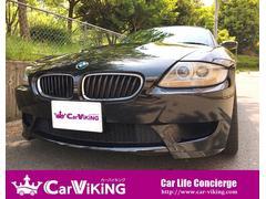BMW Z4Mクーペ 6速MT 黒革 純正ナビ 18インチAW ETC
