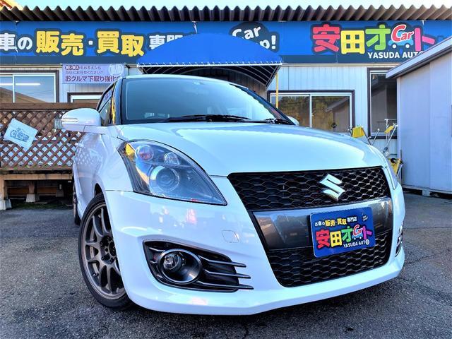 スズキ ベースグレード 社外ECU HKS車高調 ロッソマフラー WORK17インチアルミ ナビフルセグTVバックカメラ