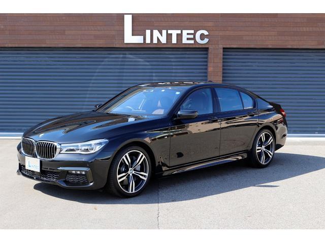 BMW 7シリーズ 750i Mスポーツ リアコンフォートPKG ワンオーナー 室内ガレージ保管 禁煙車 内装色モカエクスクルーシブナッパレザー全席シートヒーター&ベンチレーター マッサージ機能付 リア専用i-pod 純正20AW
