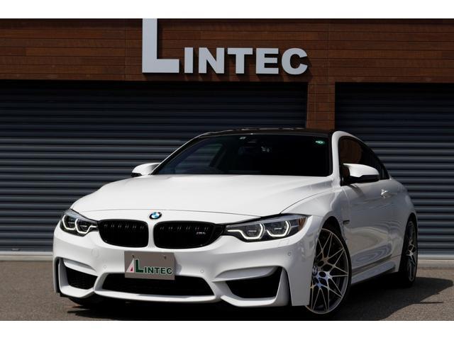 BMW M4 M4クーペ コンペティション アダプティブMサスペンション BBS20インチアルミホイール H&Rダウンサス カーボンリアスポイラー&リアデフューザー フロントガラス・運転席・助手席断熱フィルム リア三面スモークフィルム 禁煙車