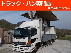 ヒノレンジャー2.9トン ワイド超超ロング アルミウィング NOX適