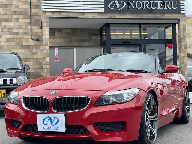 BMW sDrive23i Mスポーツパッケージ パドルシフト 本革黒レザーシート シートヒーター キセノンライト 純正ナビ ETC 禁煙車 電動オープン