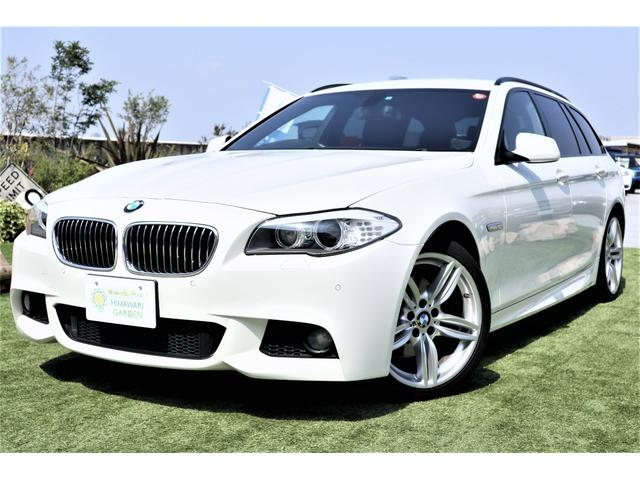 BMW 523iツーリング Mスポーツ レザー HDD 19AW