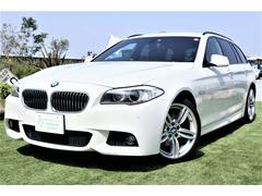 BMW523iツーリング Mスポーツ レザー HDD 19AW